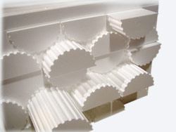 Foam Moldings from Raw Blocks