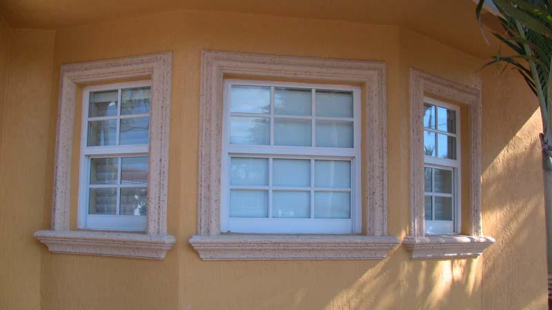 Residential new foam design - Exterior decorative foam molding ...